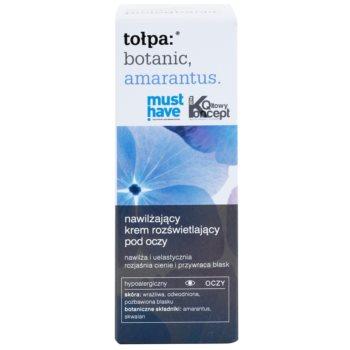 Tołpa Botanic Amaranthus нежен очен крем с хидратиращ ефект 2