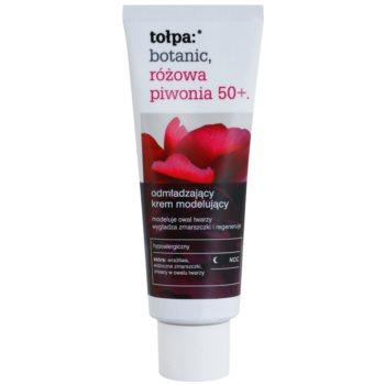 Tołpa Botanic Peony Pink 50+ Anti-Aging Nachtcreme zur Festigung der Haut