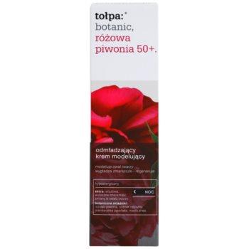 Tołpa Botanic Peony Pink 50+ Anti-Aging Nachtcreme zur Festigung der Haut 2