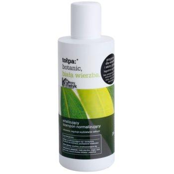 Tołpa Botanic White Willow sampon pentru normalizare pentru par si scalp gras