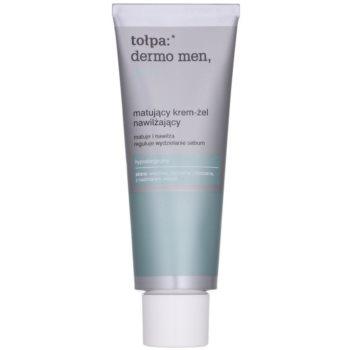 Tołpa Dermo Men 20+ gel crema matifianta cu efect de hidratare poza noua