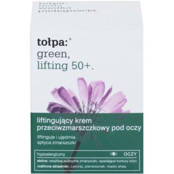 Tołpa Green Lifting 50+ crema antirid pentru zona ochilor cu efect lifting 2