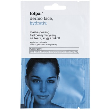 Tołpa Dermo Face Hydrativ masca exfolianta enzimatica cu efect de hidratare  2 x 6 ml