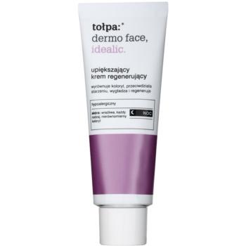 Tołpa Dermo Face Idealic creme de noite regenerador  para pele com imperfeições