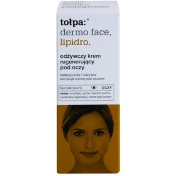 Tołpa Dermo Face Lipidro crema de ochi regeneratoare impotriva ridurilor si cearcanelor 2