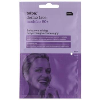 Tołpa Dermo Face Modelar 50+ curățarea și remodelarea facială în 2 etape