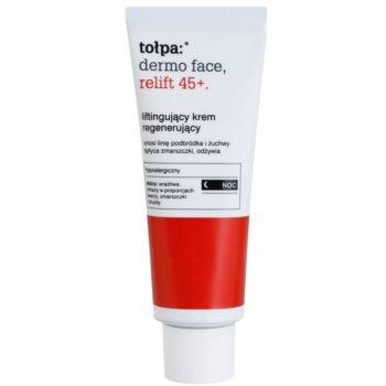 Tołpa Dermo Face Relift 45+ відновлюючий нічний крем з ліфтинговим ефектом