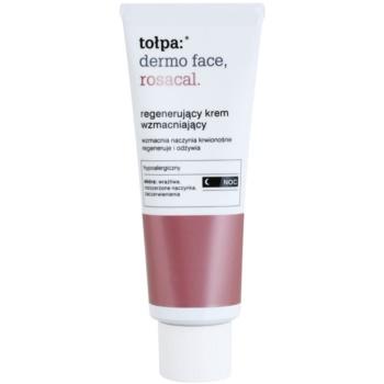 Tołpa Dermo Face Rosacal crema regeneratoare de noapte pentru piele sensibila cu tendinte de inrosire poza noua