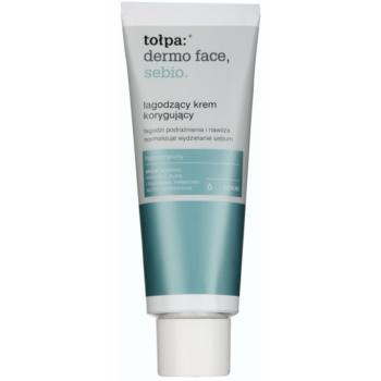 Tołpa Dermo Face Sebio crema calmanta pentru piele sensibila predispusa la acnee  40 ml