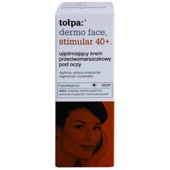 Tołpa Dermo Face Stimular 40+ krema za učvrstitev kože okoli oči proti gubam in temnim kolobarjem 2