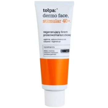 Tołpa Dermo Face Stimular 40+ crema regeneratoare de noapte antirid