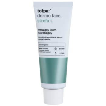 Tołpa Dermo Face T-Zone crema de matifiere cu efect de hidratare crema de matifiere cu efect de hidratare
