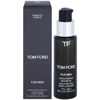 Tom Ford Men Skincare масло за брада с аромат на ванилия и тютюн 1