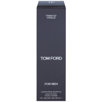 Tom Ford Men Skincare масло за брада с аромат на ванилия и тютюн 2