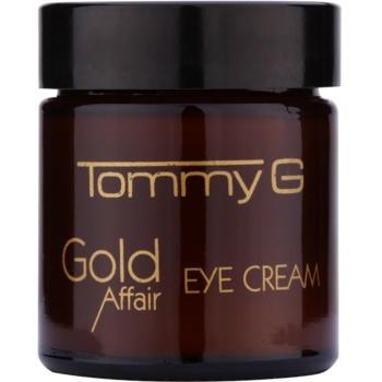 Fotografie Tommy G Gold Affair rozjasňující oční krém pro omlazení pleti 30 ml