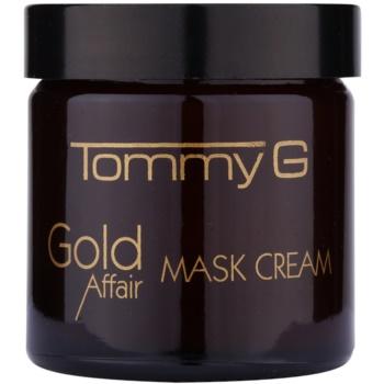 Tommy G Gold Affair masca de hidratare si luminozitate pentru piele sensibila