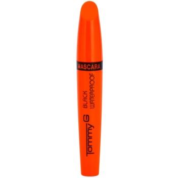 Tommy G Eye Make-Up Super Color vodoodporna maskara za volumem in zgostitev trepalnic 1