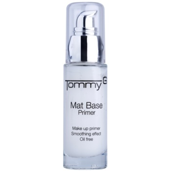 Tommy G Face Make-Up fond de ten lichid cu efect matifiant sub machiaj