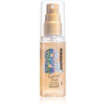 TONI&GUY Radiant Pink spray parfumat pentru par cu particule stralucitoare imagine produs