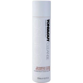TONI&GUY Cleanse szampon do włosów w odcieniach brązu