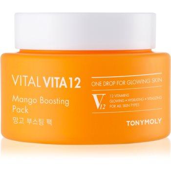 TONYMOLY Vital Vita 12 Mango masca de hidratare si luminozitate