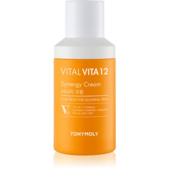 TONYMOLY Vital Vita 12 Synergy crema iluminatoare cu vitamine