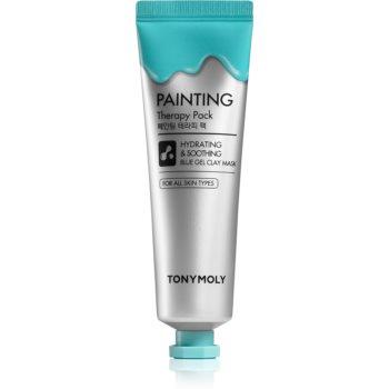 TONYMOLY Painting Therapy Pack mască cu argilă pentru netezirea pielii imagine