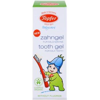 Töpfer BabyCare zubní gel pro děti 3