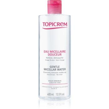 Topicrem UH FACE Gentle Micellar Water apã micelarã pentru curã?are blânda pentru piele si ochi sensibili imagine produs