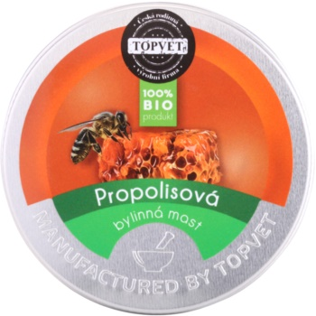 Topvet Body Care unguent pe baza de plante cu propolis  50 ml
