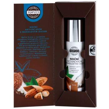 Topvet Face Care vyživující noční krém s mandlovým olejem 2