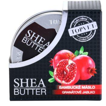 Topvet Shea Butter Sheabutter mit Granatapfel 3