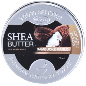Topvet Shea Butter bambucké maslo bez parfumácie