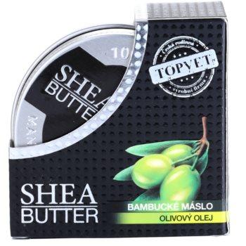 Topvet Shea Butter karitejevo maslo z oljčnim oljem 3