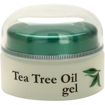Topvet Tea Tree Oil gel pentru ten acneic