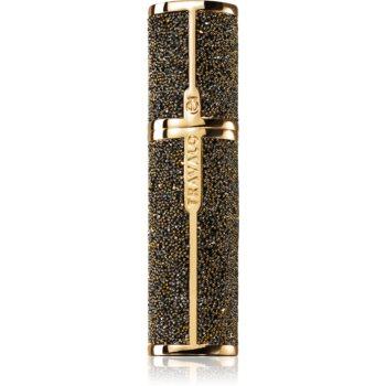 Travalo Couture sticluță reîncărcabilă cu atomizor Gold