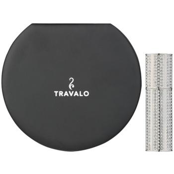 Travalo Divine nachfüllbarer Flakon mit Zerstäuber unisex   Silver