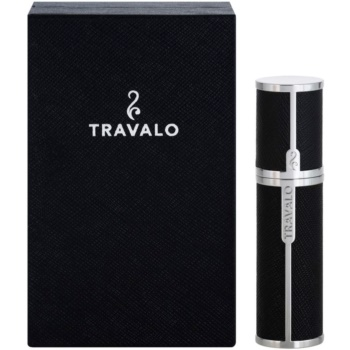 Fotografie Travalo Milano plnitelný rozprašovač parfémů unisex 5 ml Black