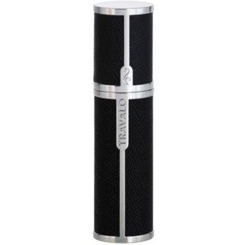 Travalo Milano plnitelný rozprašovač parfémů unisex 5 ml Black