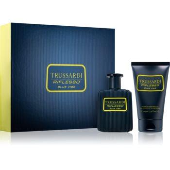 Trussardi Riflesso toaletní voda 50 ml + šampon a sprchový gel 100 ml