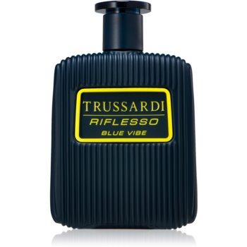 Trussardi Riflesso Blue Vibe Eau de Toilette pentru bărbați poza noua