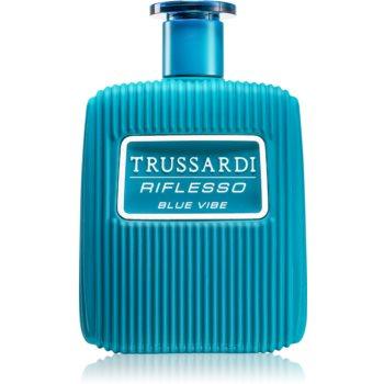 Trussardi Riflesso Blue Vibe Limited Edition Eau de Toilette pentru bărbați