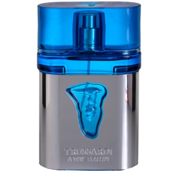 Trussardi A Way For Him eau de toilette pentru barbati 50 ml + ( mini Trussardi A Way For Her EDT 1,5 ml)
