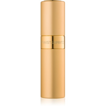 Twist & Spritz Fragrance Atomiser plnitelný rozprašovač parfémů unisex 8 ml Gold
