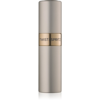 Twist & Spritz Fragrance Atomiser plnitelný rozprašovač parfémů unisex 8 ml Platinum