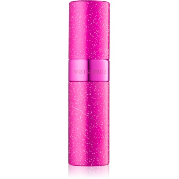 Twist & Spritz Fragrance Atomiser sticluta reincarcabila cu atomizér unisex 8 ml Hot Pink Glitter