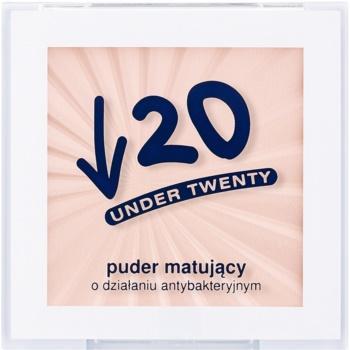 Under Twenty ANTI! ACNE pudra matuire pentru tenul gras, predispus la acnee  6 g