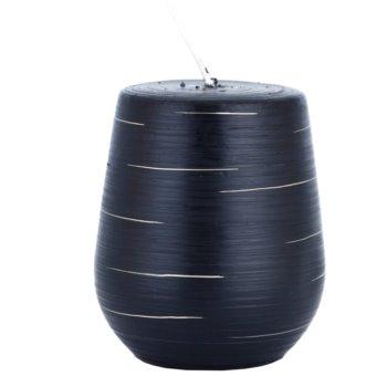 Unipar Nordlys Steep Line Black свещ   (Cone 90 - 100)