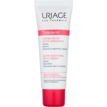 Uriage Toléderm crema calmanta pentru piele sensibila si uscata