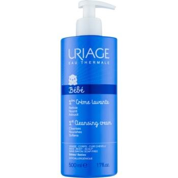Fotografie Uriage 1érs Soins Bébés čisticí krém na tvář, tělo a vlasy 500 ml